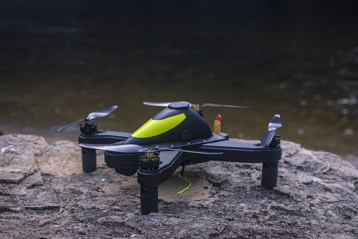 Drone fishing - Cuta-Copter