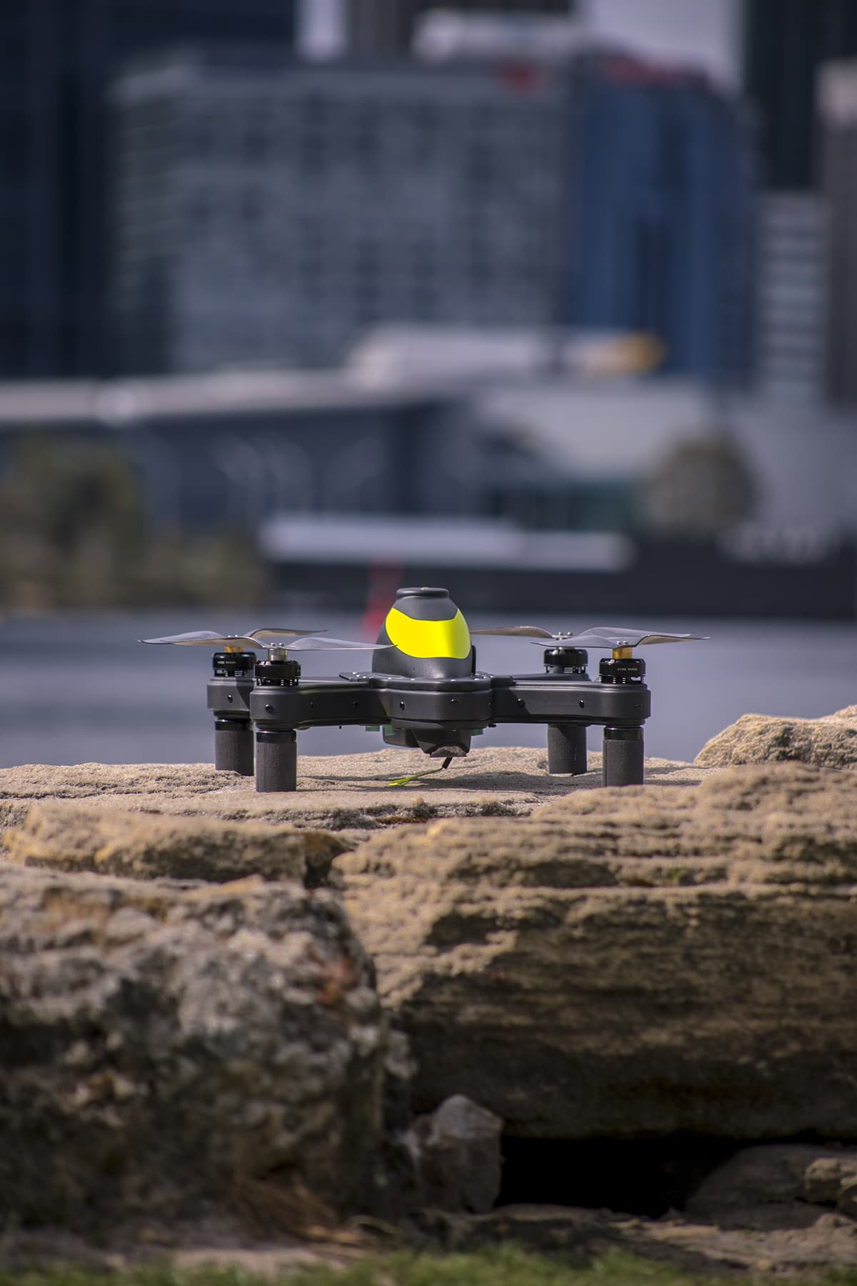 Fishing with a drone - Cuta-Copter